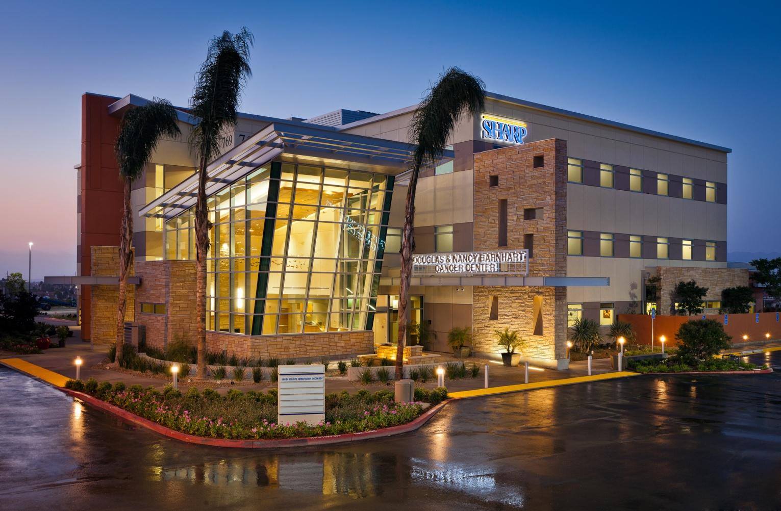 Douglas and Nancy Barnhart Cancer Center at Sharp Hospital,